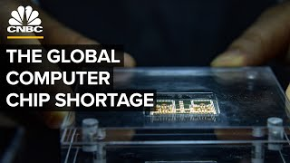How The Global Computer Chip Shortage Happened