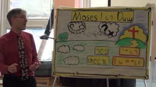 Moses, Dyn Duw (Moses, Man of God) by Adam Colman