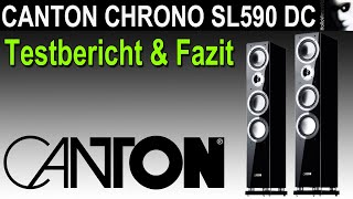 Canton Chrono SL 590 DC Testbericht Review Fazit