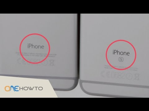 How to tell the difference between iPhone 6 / 6 Plus and 6s / 6s plus