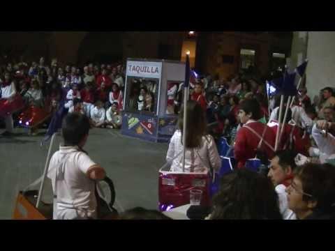 """XLIII Concurso de Disfraces de ZIRAUKI. """"Los autos de choque"""" (Niños de la Ludoteca). Parte_02"""
