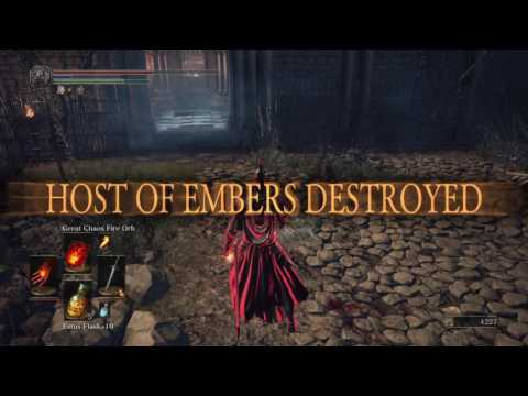 Dark Souls 3 - 40 INT/40 FAITH OP Pyromancer PVP! - игровое видео