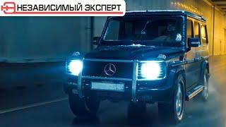 ПАРОВОЗНЫЕ ТОРМОЗА С BMW НА ГЕЛИК BRABUS!