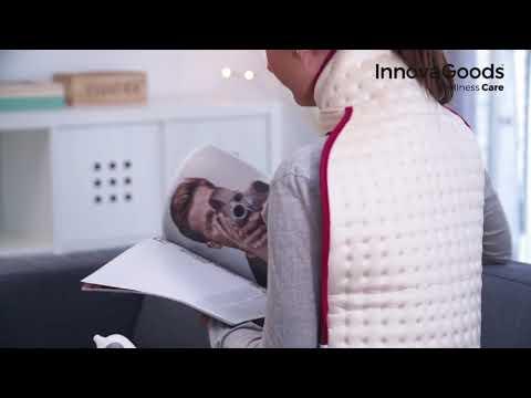 almohadilla eléctrica para cuello y espalda InnovaGoods Wellness Care.