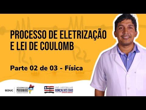 Aula 08 | Eletrostática: Processos de eletrização e Lei de Coulomb - Parte 02 de 03 - Física