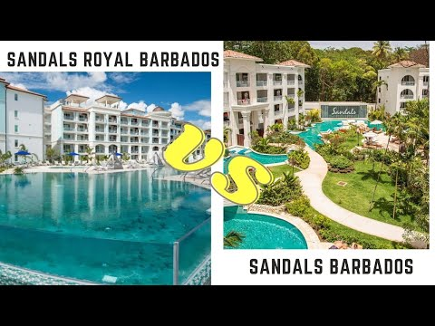 Sandals Barbados & Sandals Royal Barbados Comparison