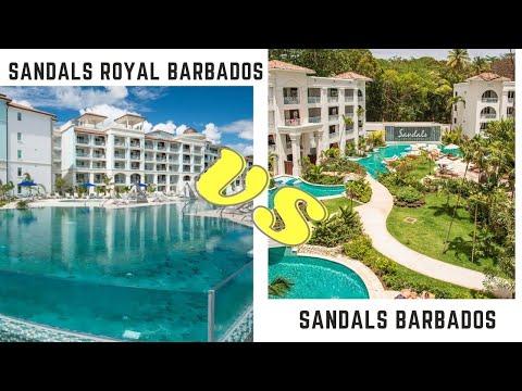 Sandals Barbados & Sandals Royal Barbados Comparison