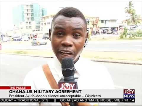 Ghana-US Military Agreement - The Pulse on JoyNews (3-4-18)