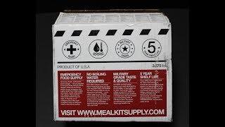 Beef Ravioli In Meat Sauce - Meal Kit Supply Menu 3 - 2 Course MRE
