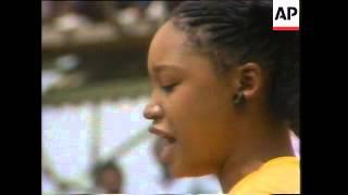 "Mandela - Various 1985 - 1987, Zambia: ANC, Mock Election Held By ""Sowetan"" Newspaper For Blacks"