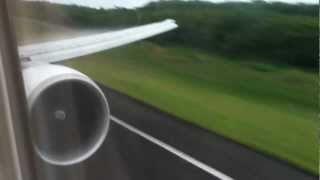 preview picture of video 'landing Pointe à Pitre Air France Boeing 777'