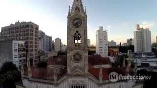 preview picture of video 'Iglesia San Ponciano - La Plata - Buenos Aires - desde el aire - tomas aéreas'
