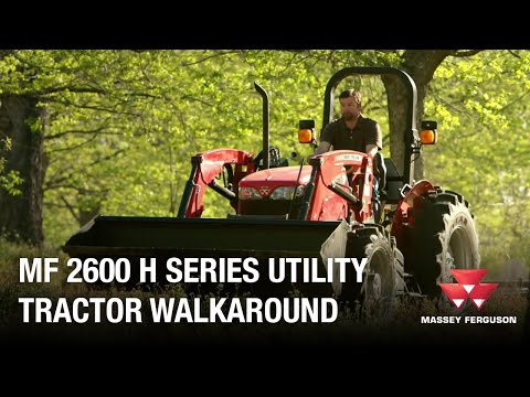 2020 Massey Ferguson 2604H 4WD in Hondo, Texas - Video 1