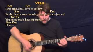 Ex's & Oh's (ELLE KING) Strum Guitar Cover Lesson with Chords/Lyrics