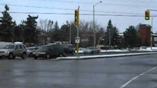 preview picture of video 'Police And Fire Call @ Kingston Rd & Westney In Ajax'
