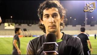 preview picture of video 'استعداد فريق الوحدات لمواجهة فريق الكويت الكويتي'