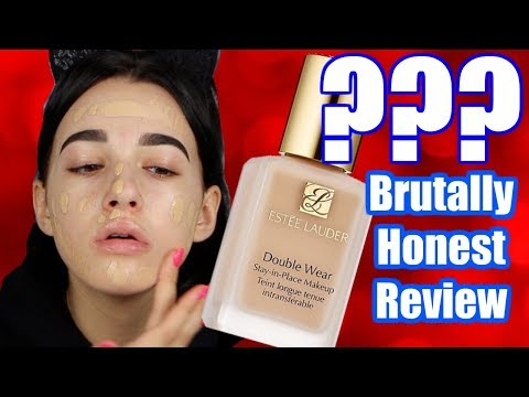 BRUTALLY HONEST ESTEE LAUDER DOUBLE WEAR FOUNDATION REVIEW | Jordan Byers