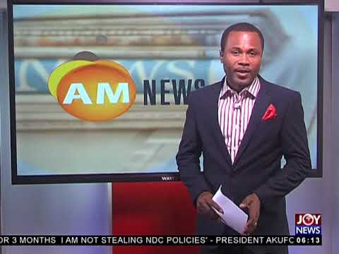 Building Collapse - AM News on JoyNews (10-7-18)