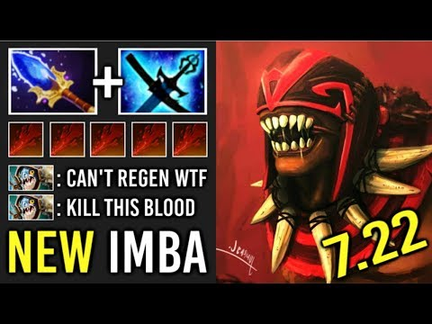This is How You Counter Slark Ez! 7.22 Scepter Bloodseeker Lethal Rapture Epic Teamwork Game Dota 2