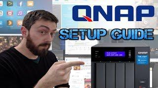 QNAP NAS Guide Part 1 - Setup, RAID, Volumes  IP and Shared Folders