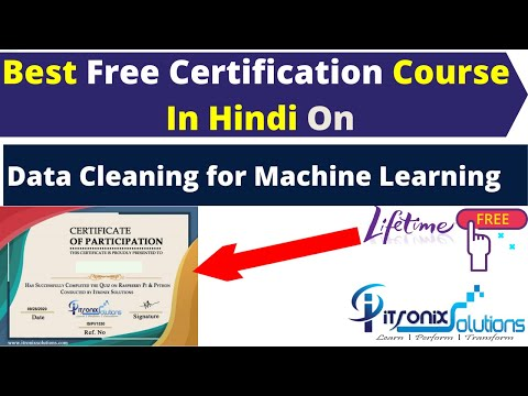 Best Free Certification Course On Data Cleaning for Machine ...