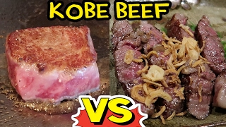 $200 Kobe Beef Steak VS. $20 Kobe Beef Steak! - Video Youtube
