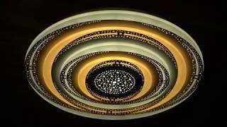 Видео о 7010 - GL led (160W) люстра