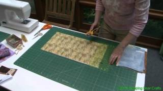 Cut Strips and Squares from a Fat Quarter
