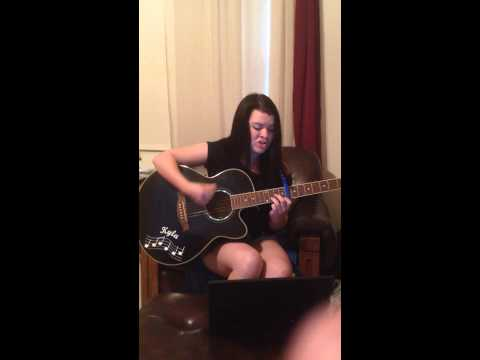 Summertime Sadness Acoustic Cover- Kyla Mainous