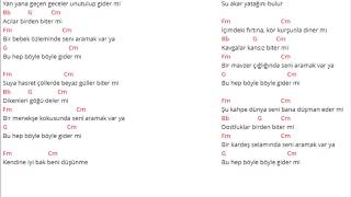 Ahmet Kaya - Kendine İyi Bak - Akor (Kolay Ve Orjinal Ton)