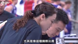 瓊斯盃男籃近10年首位女裁判─李思敏