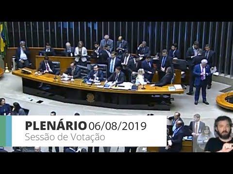 Plenário - Votação do 2° turno da Previdência - 06/08/2019 - 21:39