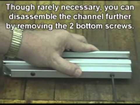 Powernail 445FS PowerStapler Staple Channel Rebuild