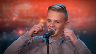 Steff amazes the jury with an incredible opera performance | Belgium's Got Talent | VTM