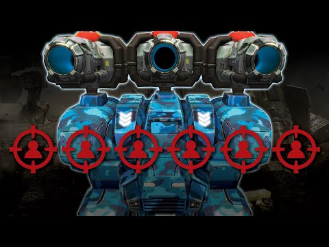 War Robots - Death Mark Squad With Clan VØX + Lucky Draw | Live Action Gameplay