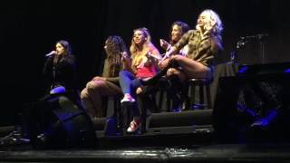 Camila rapping At #727TourManchester - Video Youtube