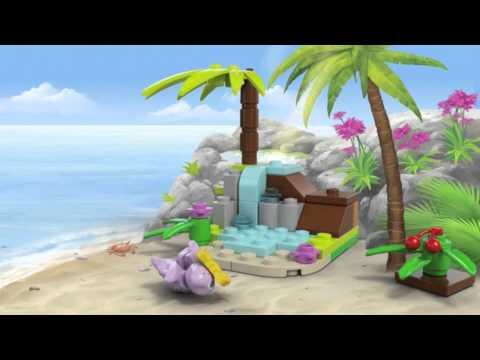 Vidéo LEGO Friends 41041 : La tortue et son île paradisiaque