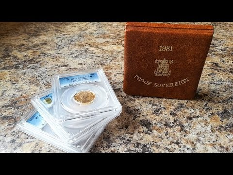 Gold Sovereign Proof Bonanza!! PCGS Grades PR70 & PR69!!