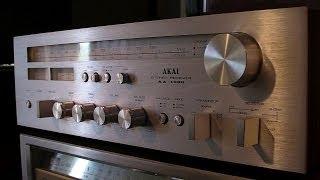 Akai AA-1030 review sound test