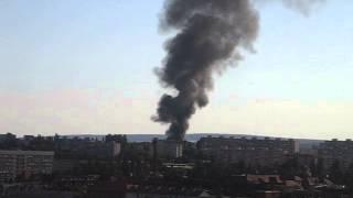 Požiar v Košiciach 6.8.2013