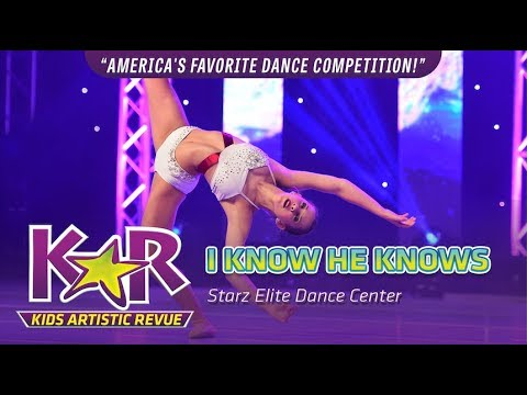 """I know He Knows"" from Starz Elite Dance Center - @pinkysparkles123"