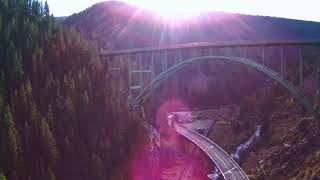 MJX Bugs B20 EIS 4k Bridge at Red Cliff CO - Eva Everything