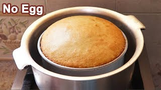 how to prepare simple cake at home without oven