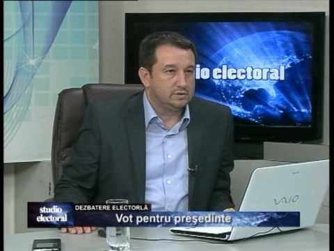Emisiunea Studio electoral – Vot pentru președinte – 10 noiembrie 2014