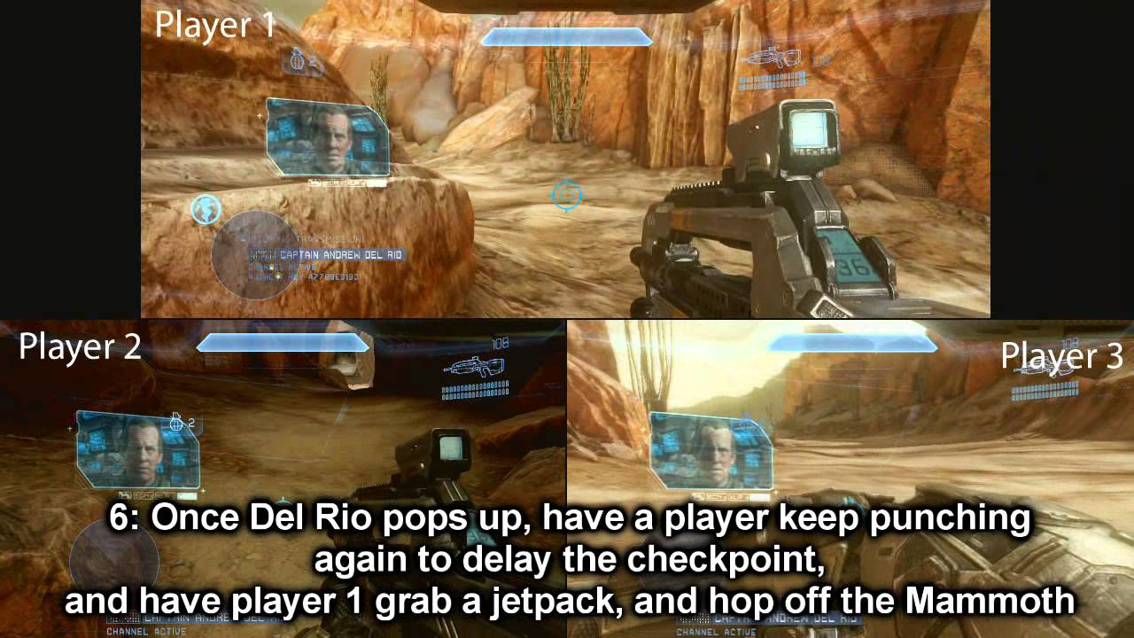 How To Sneak Behind The Wheel Of A Pelican Dropship In Halo 4
