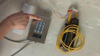 Sicherheitstechnik - elektronisches Zahlenschloss & Kartenschloss mit RFID-CardReader