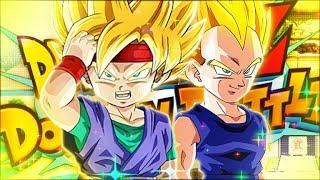HYBRID SAIYANS GOT A MONSTER BUFF! GOKU JR. + VEGETA JR.! (DBZ: Dokkan Battle)
