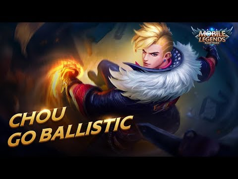 Chou New Skin | Go Ballistic | Mobile Legends: Bang Bang!