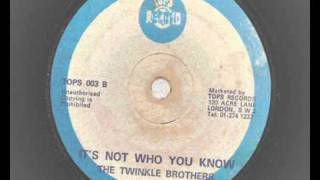 Ethiopians - I Need Someone  & Twinkle Brothers - It's Not Who You Know - tops records 1971 reggae