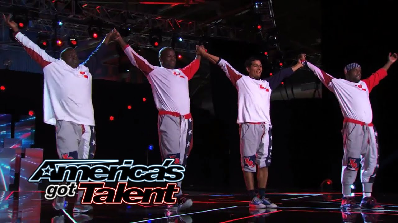 Tic & Tac Entertainment: Acrobatic Street Dancers Fly and Flip - America's Got Talent 2014 thumbnail